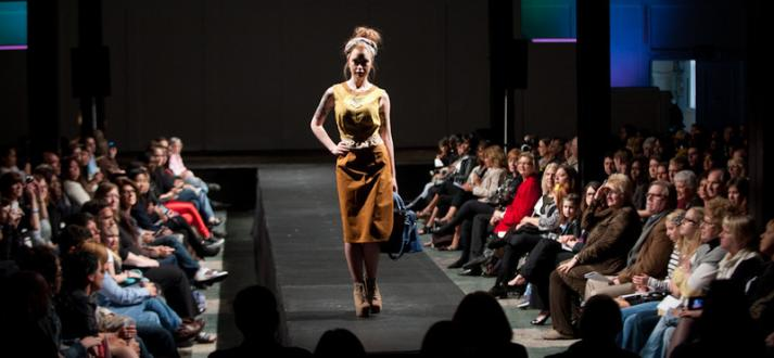 Fashion and textile technology students present the Runway show